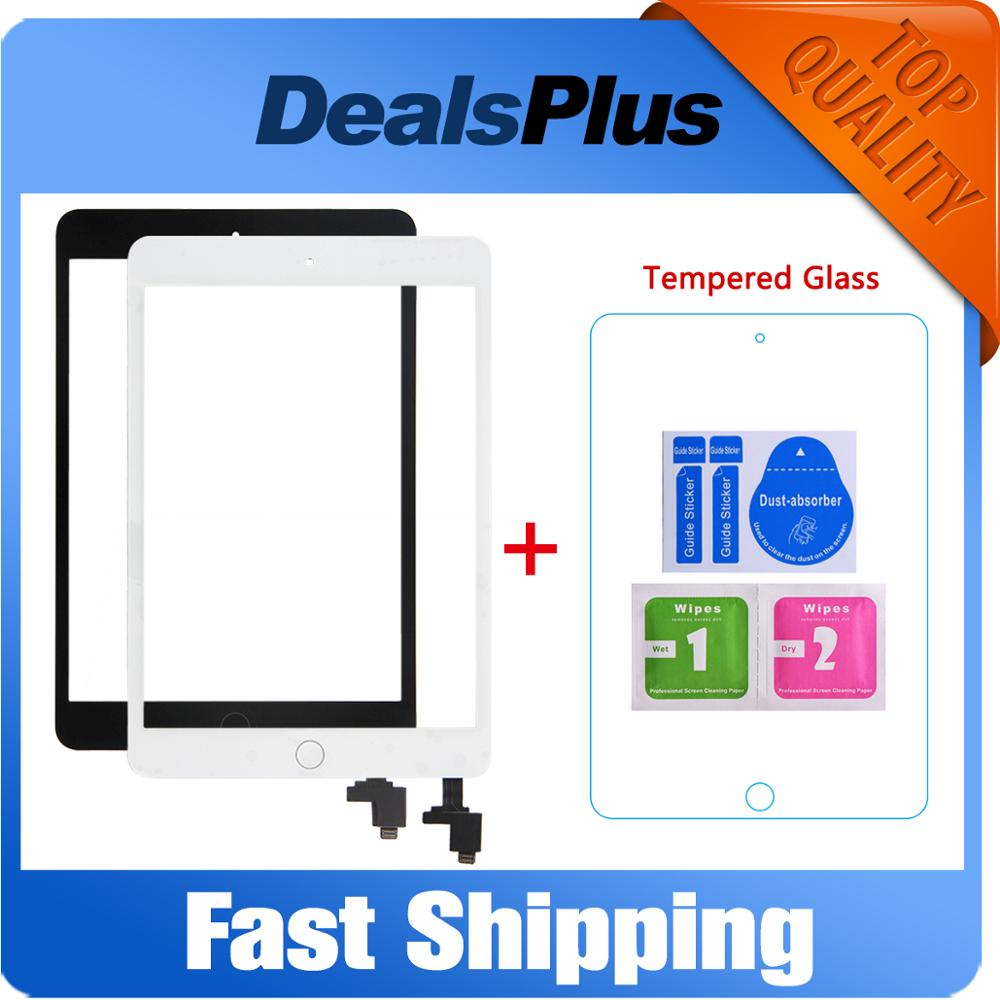 Digitizer Replacement Flex-Cable Touch-Screen A1490 iPad Mini Home-Button 1-A1432  title=
