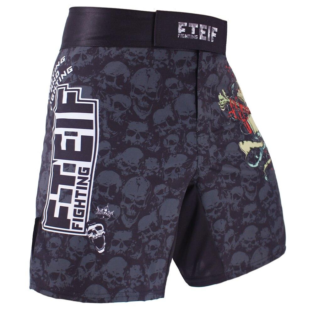 Muay Thai Boxing ladys kickboxing gym MMA UFC shorts Black purple large bargain