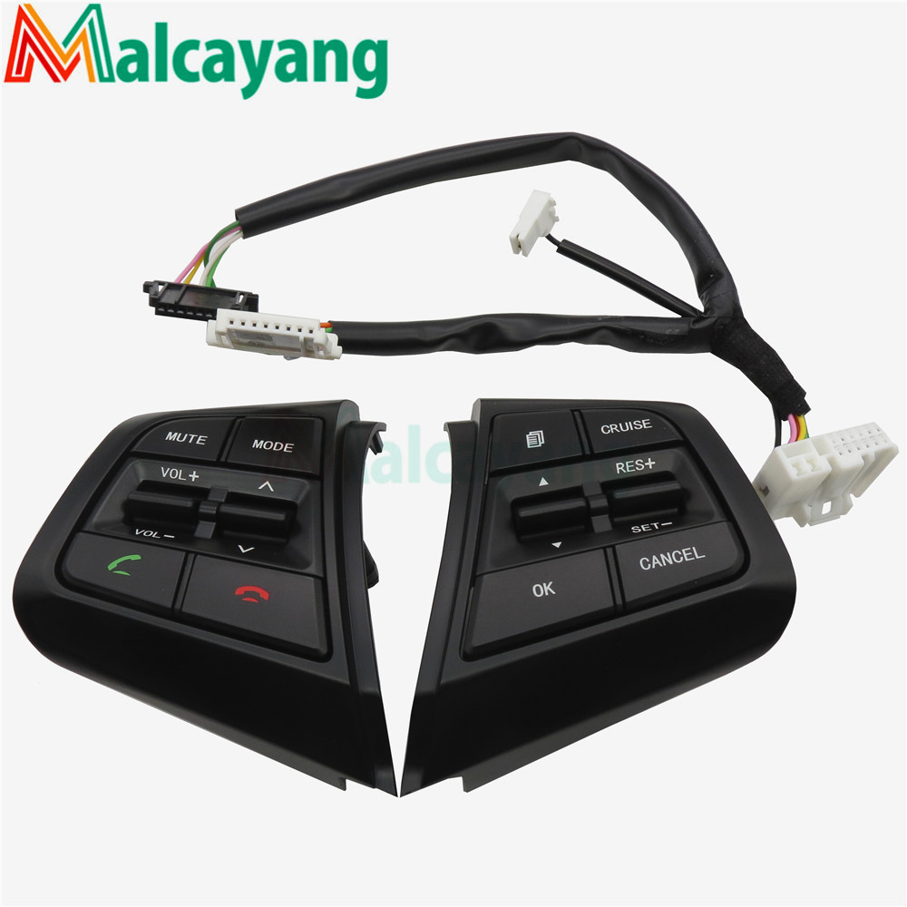 For Hyundai Creta ix25 2.0L Steering Wheel Cruise Control Buttons 96700C90004X 96710C90004X 96710C90104X
