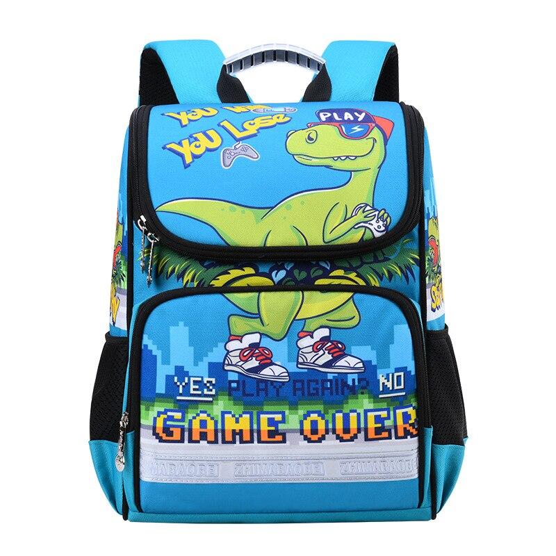 2020 New Children School Bags For Boys Orthopedic Waterproof Backpacks Child Boy Book bag Satchel Knapsack Mochila escolar