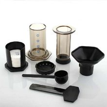 Coffee-Maker Aeropress-Machine Espresso NEW-FILTER Glass Cafe Portable for N1HA