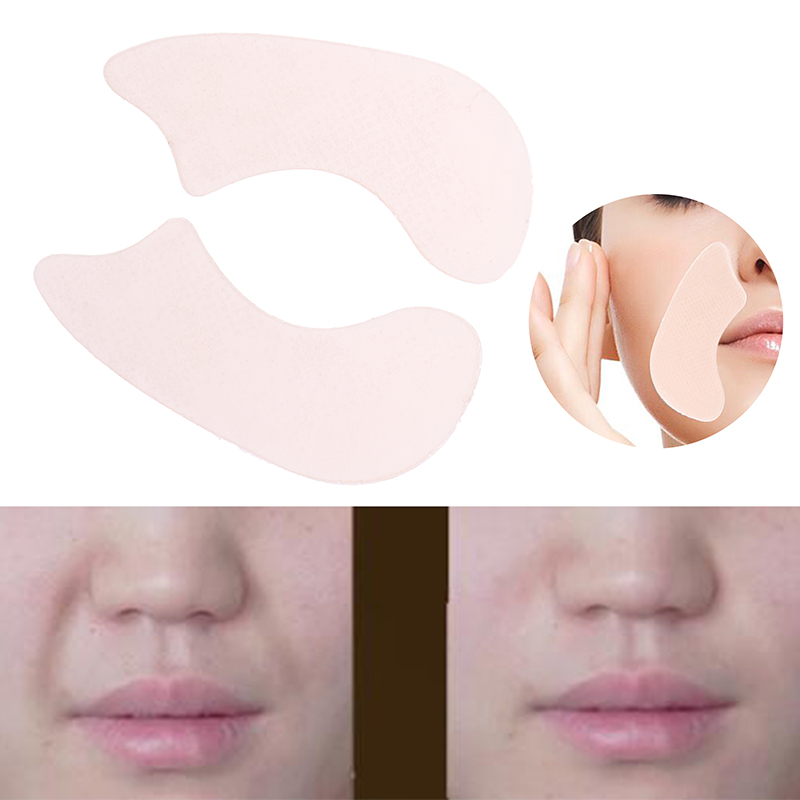 1Pair Anti-wrinkles Patch Face Facial Line Wrinkle Sagging Skin V-Shape Face Lift Up Fast Chin Adhesive Tape Thin Face Stickers