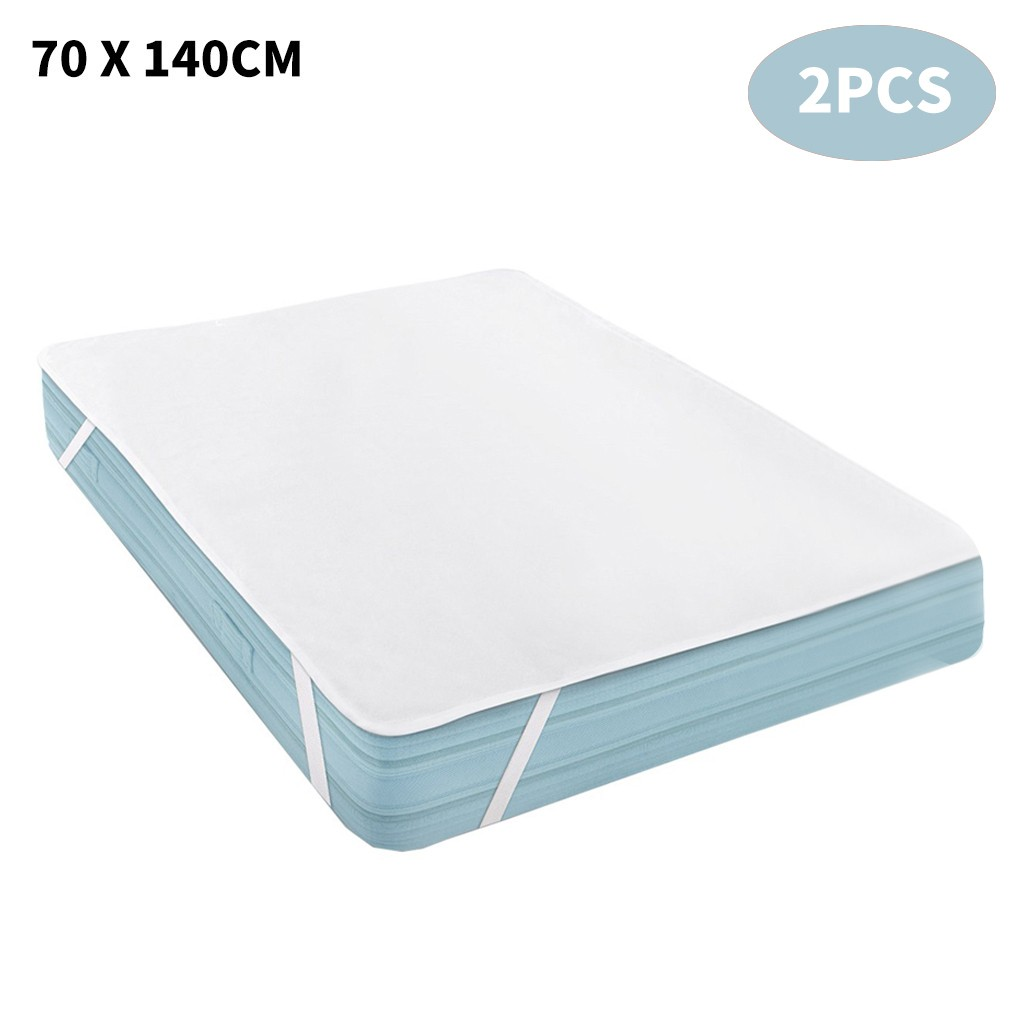 Waterproof Mattress Protector Mattress Pad Pillow Cover 70 x 140 cm 2PCS household accessories 2020 new arrivals wholesale