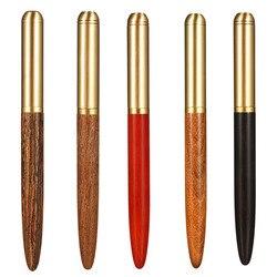 Высокое качество, роскошный деревянный перьевая ручка, чернильный наконечник, 0,7 мм, caneta tinteiro, офисный стиль, plume, Penna, stilografica 03839
