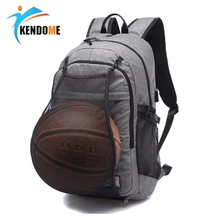 Gym-Bags Pack Basketball-Backpack Football-Net Sports Laptop-Bag Outdoor for Teenager
