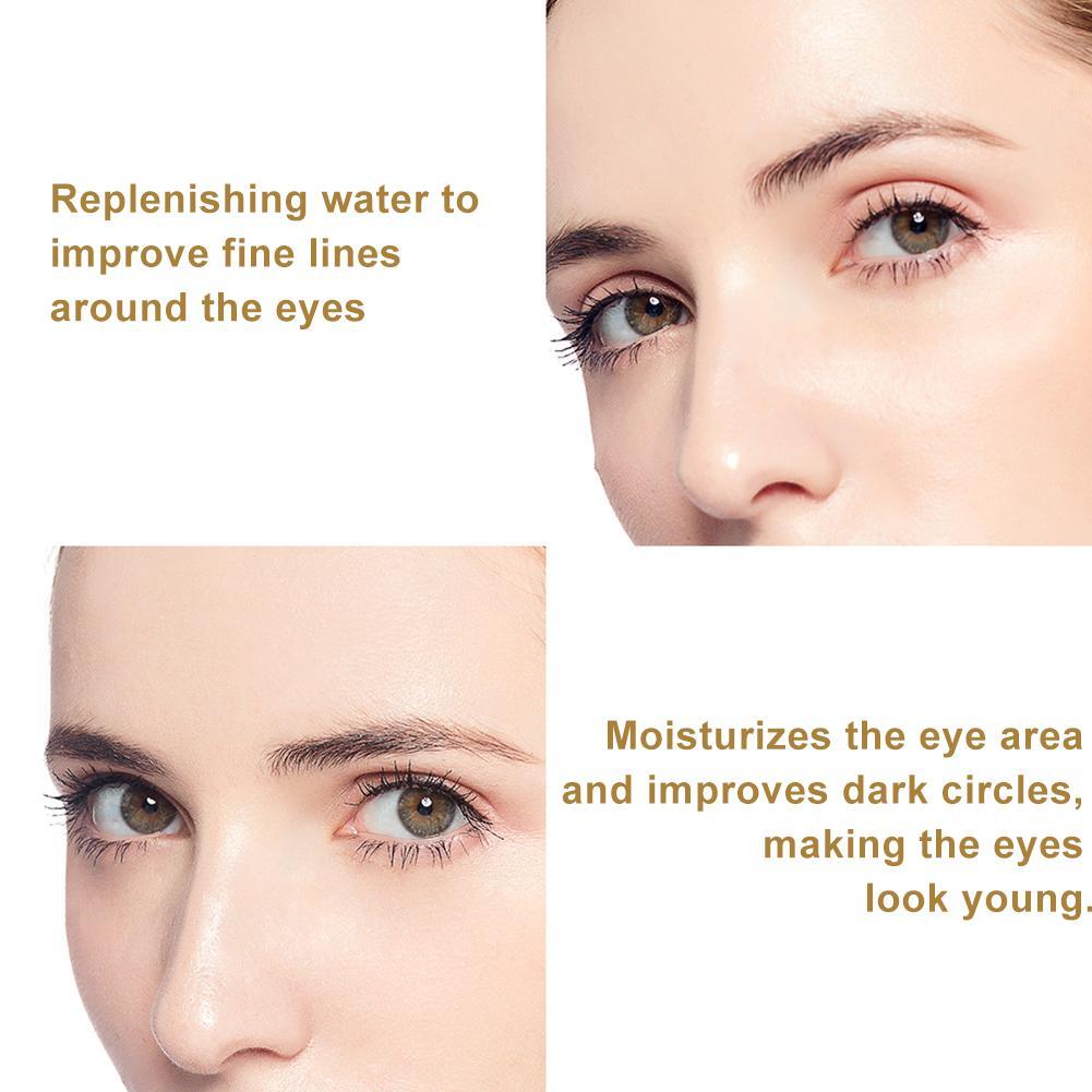 Human - 60pcs Gold/Seaweed/Black Pearl Collagen Eye Mask Face Anti Wrinkle Gel Sleep Mask Eye Patches Moisturizing Eye Mask Eye Care