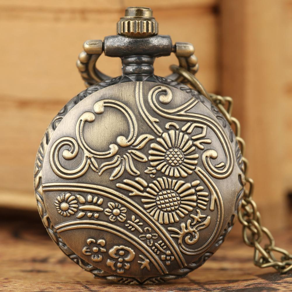 Vintage Necklace Chain Pocket Watch Hollow-out Dial for Boy Gil The Little Prince Pendant el principito reloj de bolsillo