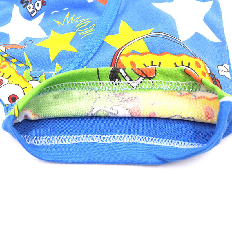 2pcs/set Cartoon Boys Underwear Soft Breathable Girls Panties Kid Boxer 3-11T Baby Panties Cartoon Sponge Panty Briefs Underpant
