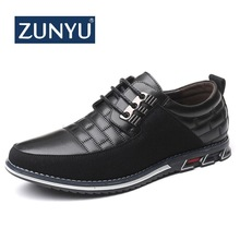 ZUNYU Men Shoes Lace-Up-Loafers Wedding-Dress Big-Size Business Fashion New 38-48 Summer