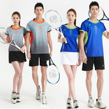 2019 Professional Tennis Sport shirt,Quick Dry Breathable Badminton T-Shirt,Women Men Table Tennis jerseys,volleyball shirts