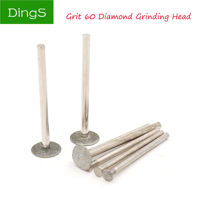Various Rubber Grinding Head 2.35//3mm Shank Electric Drill Bit Burr Rotary Tools