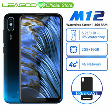 LEAGOO M12 Mobile-Phone-5.7-19:9 16GB 2GB Quad Core 8MP New 4G Smartphone 8mp-Camera