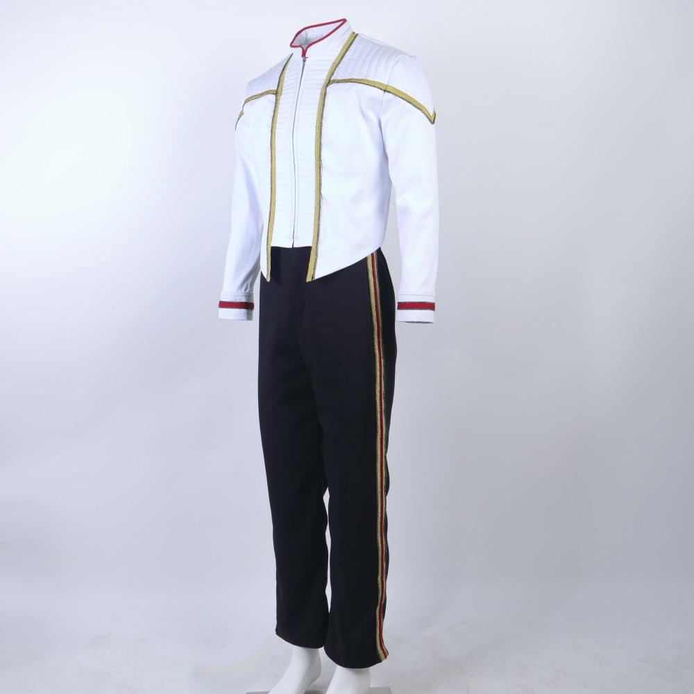 Star Trek NEM Duty Uniform Jean-Luc Picard Cosplay Costume Vest Only