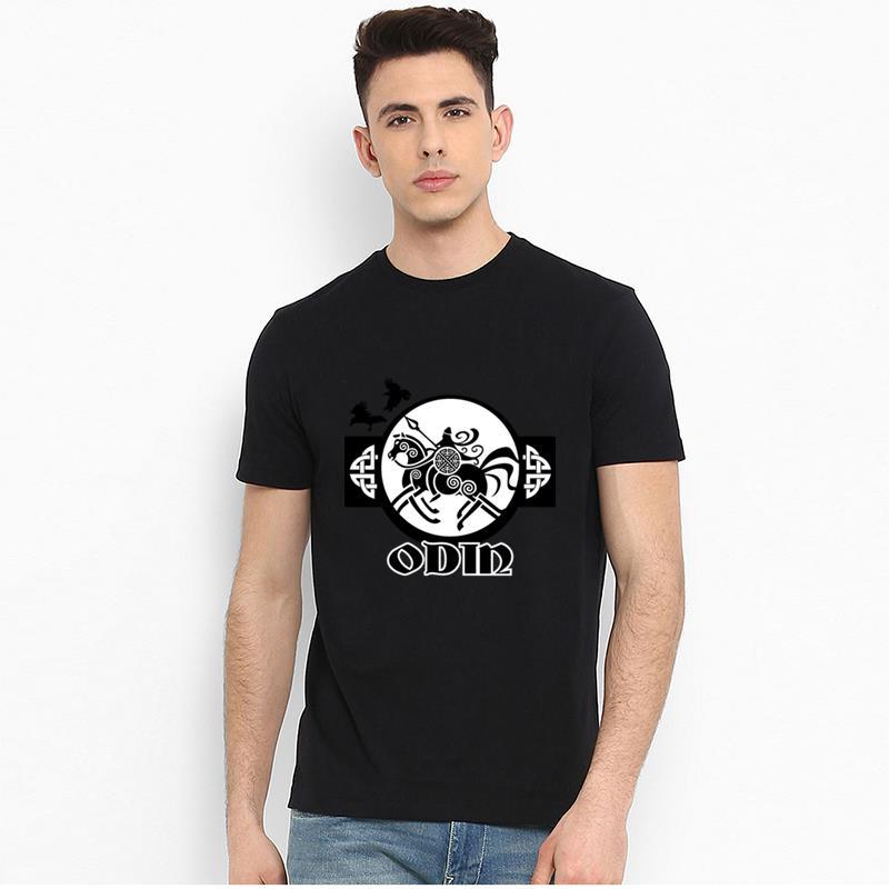 Sleipnir i Donna T-shirt odhins Cavallo Horse Odin Valalla THOR VICHINGHI VIKINGS