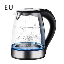 Glass-Kettle Electric-Rapid-Boil Cordless 2200W LED Illuminated