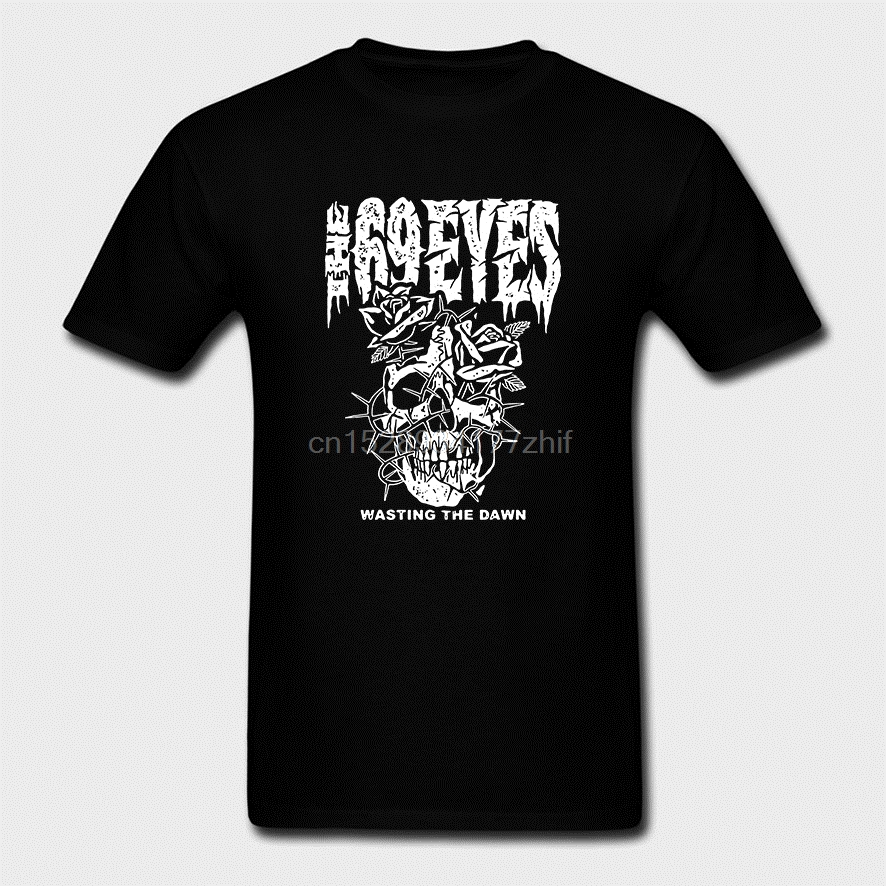 The 69 Eyes Rock Band Wasting the Dawn T-shirt tee