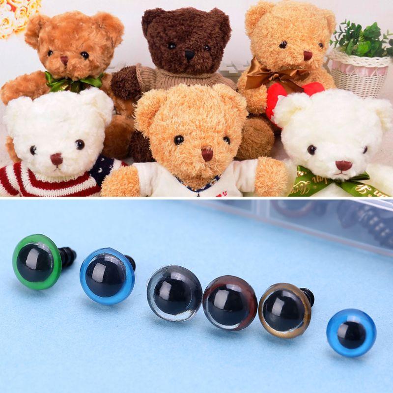 150pcs Plastic Safety 10mm Eye Nose For DIY Teddy Bear TOY Doll Animal Craft