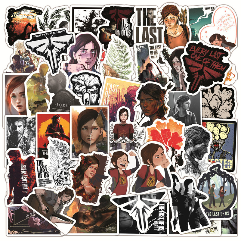 10/50Pcs/Pack Cartoon The last of us Stickers For Motorcycle Skateboard Bike Laptop Phone Suitcase Car Pegatinas