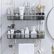 Rack Organizer Shelf-Shampoo Towel-Storage Bathroom-Accessories Cosmetic Bath-Corner-Holder