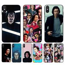 Чехол для телефона Yinuoda Adam Driver для iPhone 11 8 7 6 6S Plus X XS MAX 5 5S SE 2020 XR 11 pro(Китай)