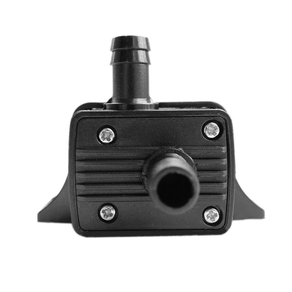 H Bomba el/éctrica sumergible de agua Mini Ultra silenciosa Bomba negra Hardware mec/ánico Aquarium Pro Bomba de agua LeobooseDC 12V 240L