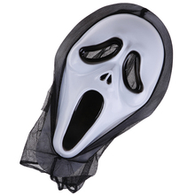 Scary Scream Ghost Face Mask Fancy Bloody Dress scary Halloween Party Costume