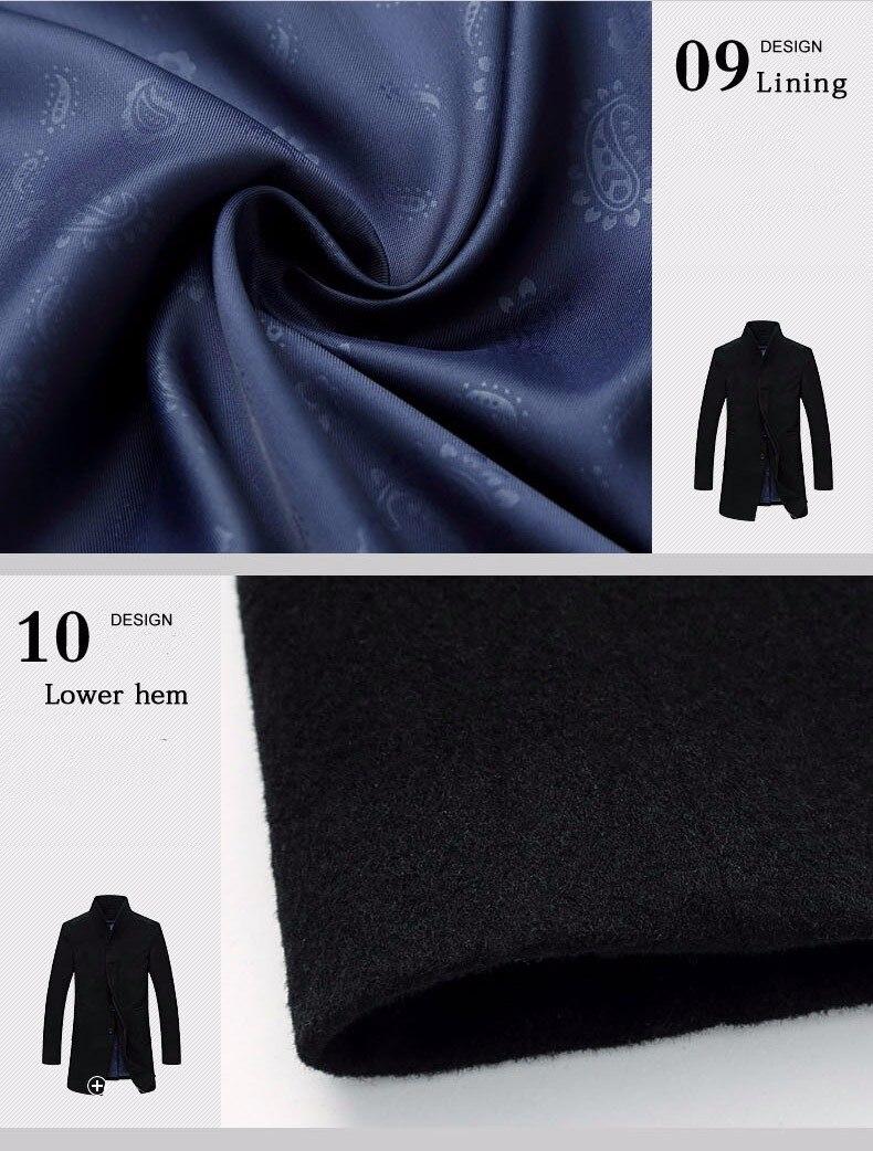 men cashmere overcoat