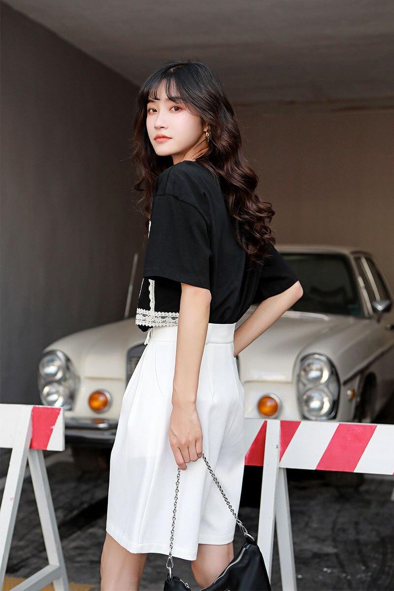 H87298bbf7d9c4cd884af81b1d5f9aa5cZ - Summer Korean High Waist Loose White Shorts