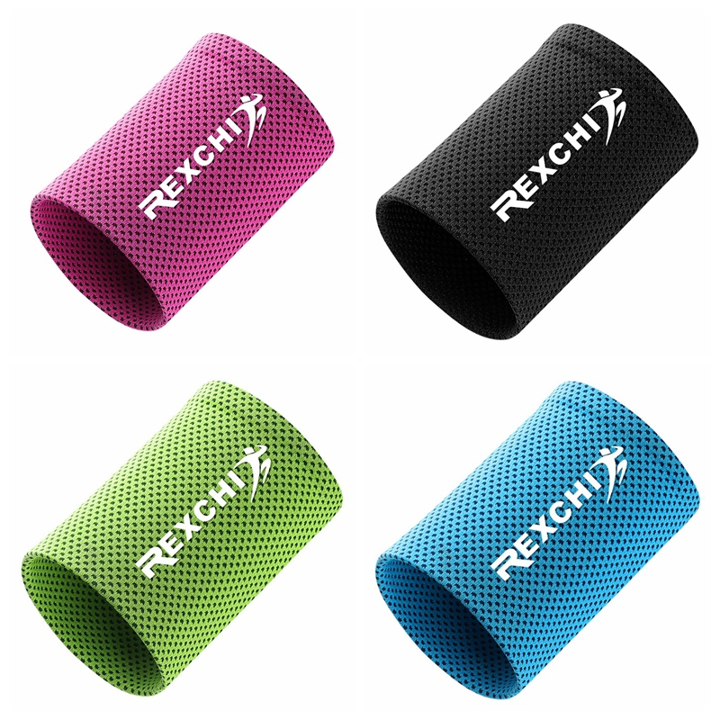 Multi-color Sports Bracers Wrist Band Wrap Cotton Universal New Sweatband GA