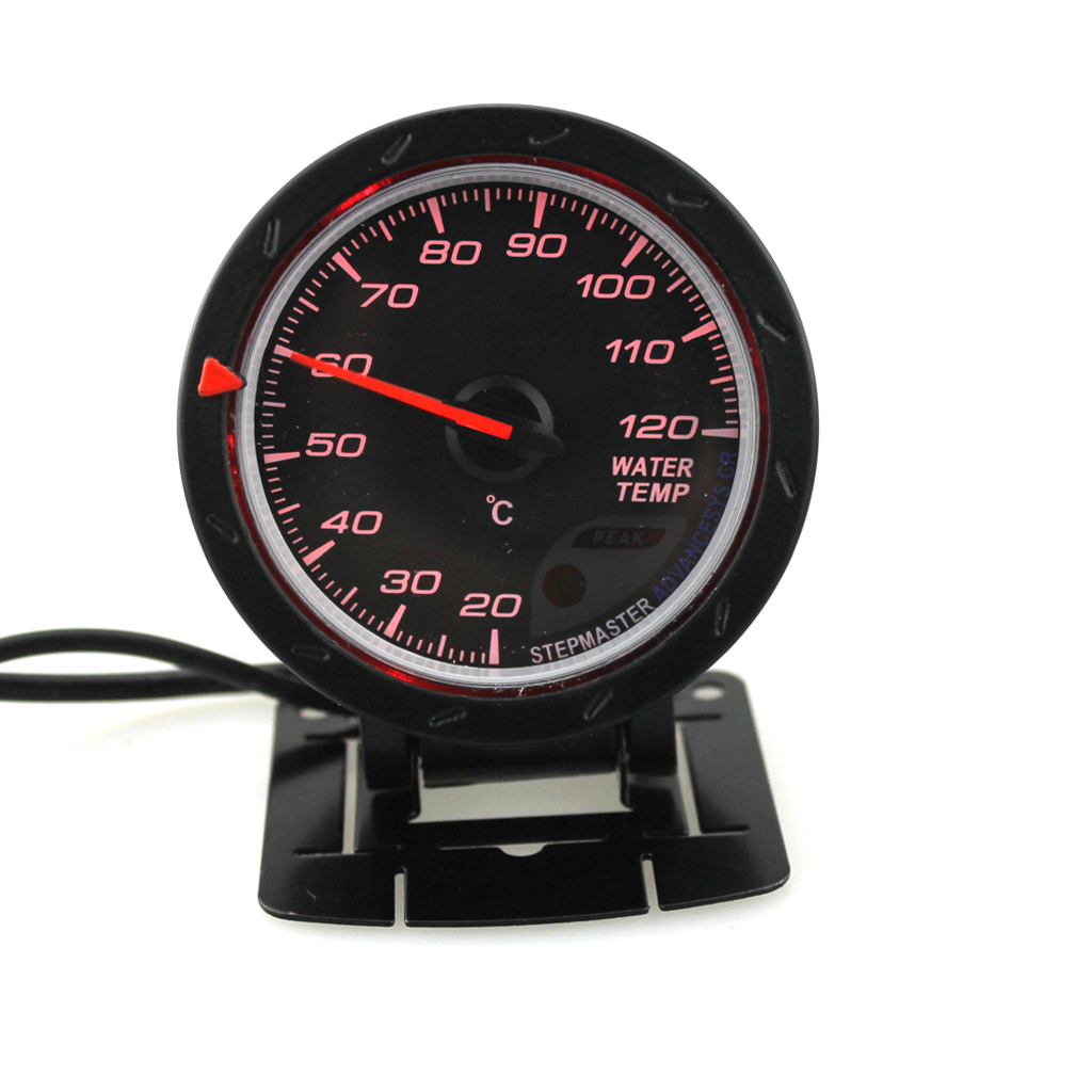 Waterproof 12V Car Water Temperature Gauge Meter +Sensor +Mount Bracket 60mm