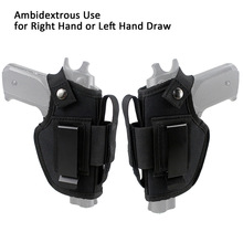 Tactical Pistol Holster Right Left Hunting Universal Nylon Hand Outdoor Combination 800D