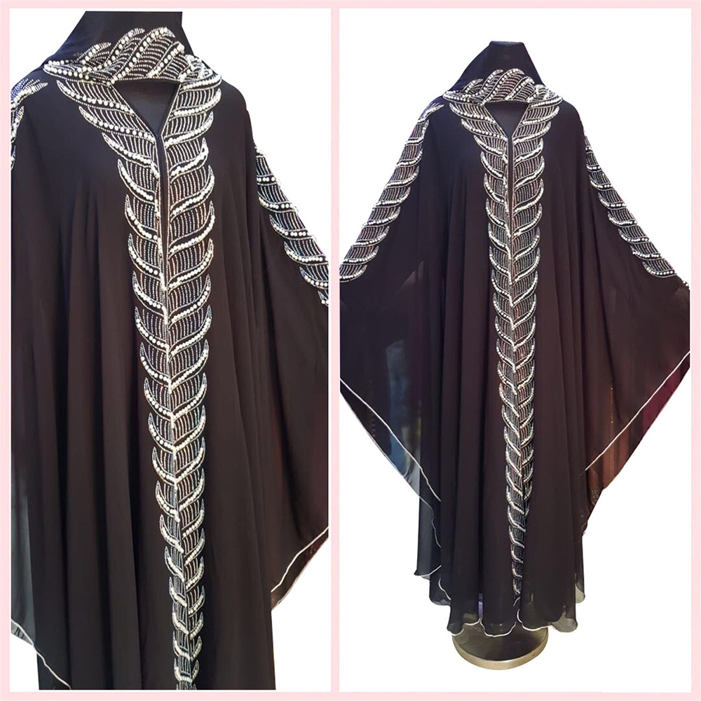 Bolero Mujer Beaded Shrug Cape Djelaba Femme Women Robe Hijab Shrugs Niqab Abaya Dubai Muslim Boerka Islamic Tunic Turkey Coat