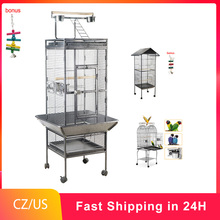 Parrot Cage Pigeon-Supplies Nest Metal Large Peony Wren Luxury