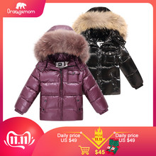 Orangemom Coat Kids Jackets Clothing Outerwear White-Duck-Down Girls Winter Children's