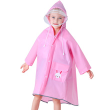 Girl Raincoat Poncho Impermeable Baby Outdoor Child Boy Cute Polyester Lively Kid