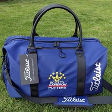 Golf Boston Bag Foldable Portable Clothing And Shoe Bags Handbag