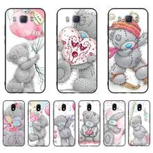 HTXian Tatty Teddy Bear Me To You силиконовый черный чехол для телефона Samsung J7 J8 J6 J4Plus J5 J7Prime J2 J5Prime M10 M20 M30(China)
