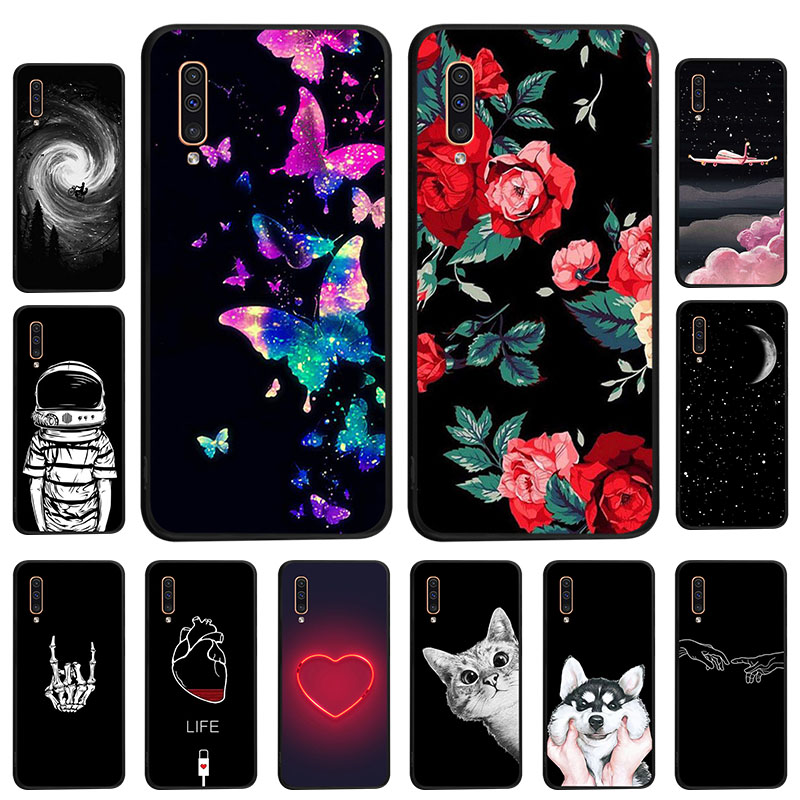 Soft TPU Case For Samsung A50 A10 A20e A40 A60 A70 Case Fundas Samsung A2 Core A3 A5 2016 2017 A6 Plus A9 2018 Silicone Cover