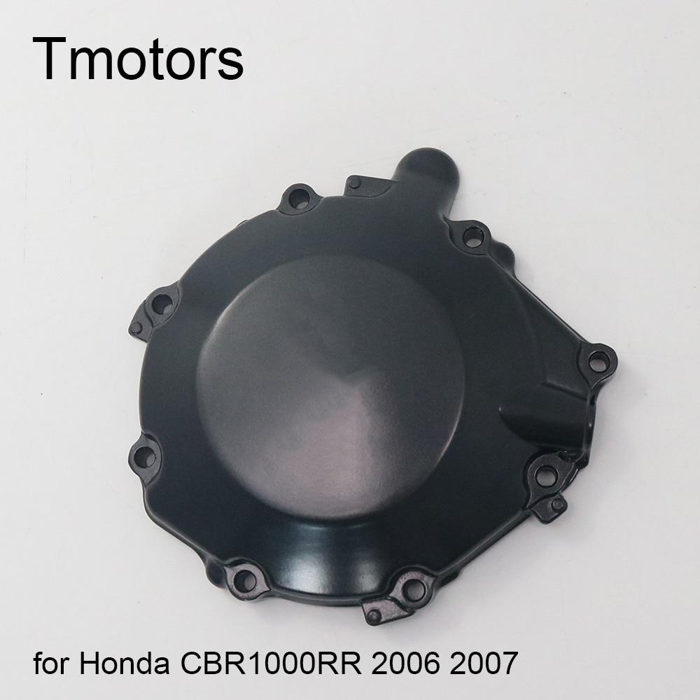 Motor Engine Stator Cover+Gasket For Honda CBR1000RR 2008-2010 Black Left side