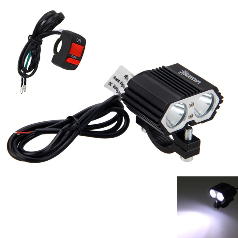 30W 2x XM-L T6 Motorcycle Boat Truck LED Driving Fog Spot Light Lamp Headlight