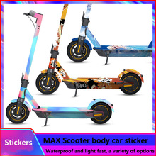 Sticker Scooter Ninebot Max-G30 Skateboard for Decal DIY PVC Full-Body