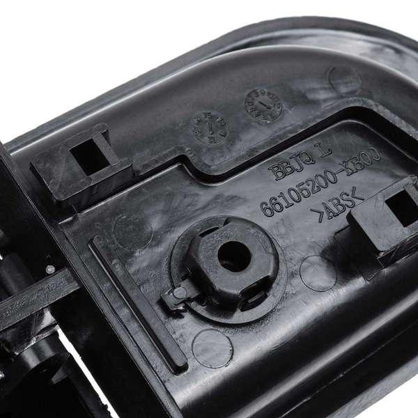 Beige manija interior del autom/óvil del ABS Panel de la puerta interior Ajuste del lado derecho para 2004-2012 beige//gris//negro Manija de la puerta del autom/óvil Tbest opcional