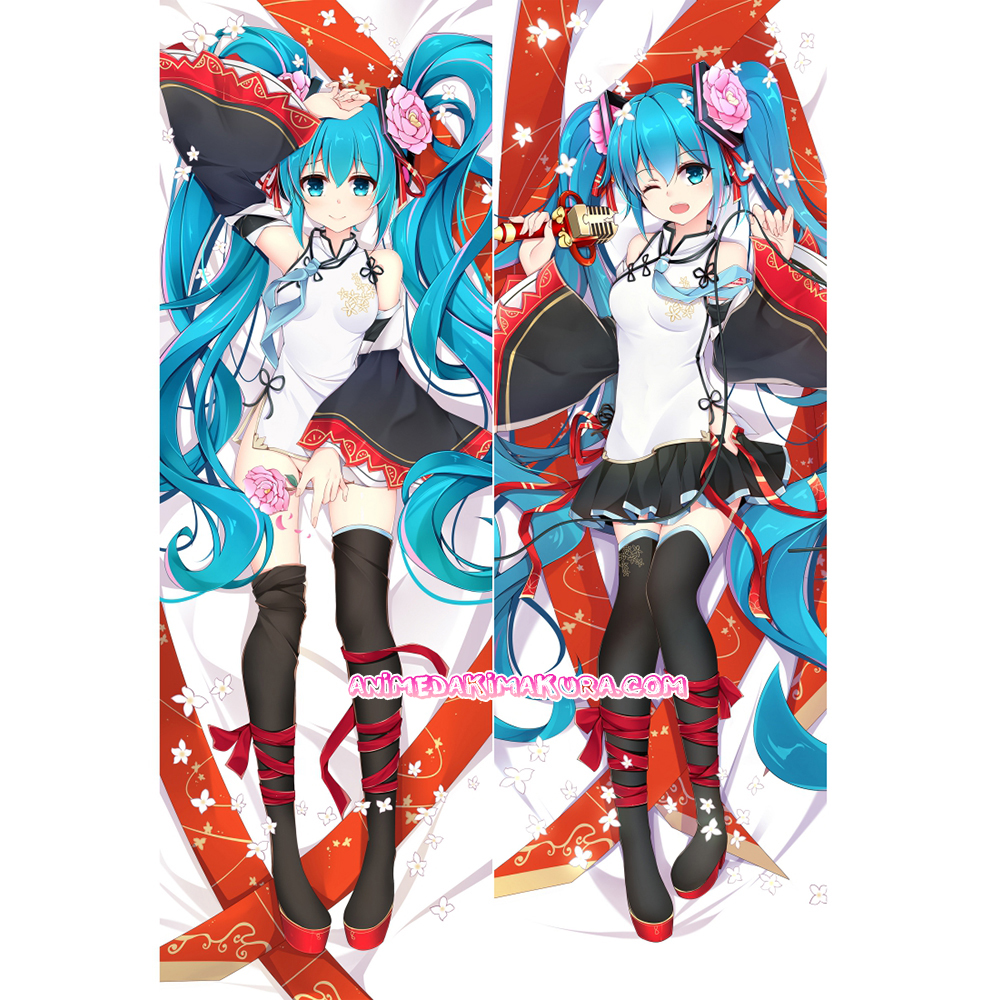 "59/"" Anime Vocaloid Hatsune Miku Hugging Body Dakimakura Pillow Cover Case"