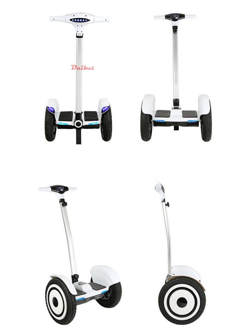 Daibot Off Road Hoverboard 2 Wheels Self Balancing Scooter With Bluetooth 15 Inch 700W 36V Adult Powerful Electric Scooter  (3)