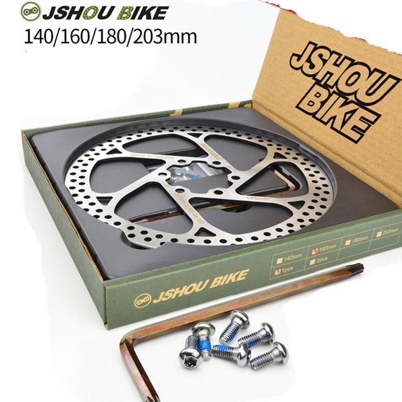 160MM//180MM HS1 MTB MOUNTAIN BIKE 6 BLOTS BRAKE ROTOR DISC FOR AVID BICYCLE NEW