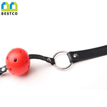 Restraints-Kits Games Sex-Toys Oral-Ball Mouth Gag Bondage Pu-Leather-Band BDSM Adult