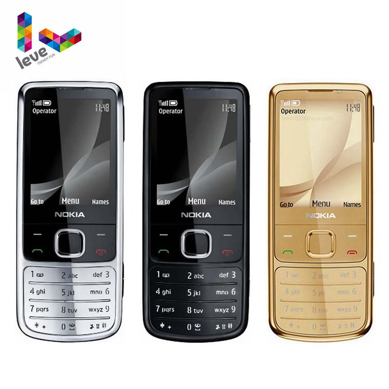 Nokia 6700C Classic Cellphone GSM Qwerty Keyboard Refurbished Unlocked Original Arabic title=