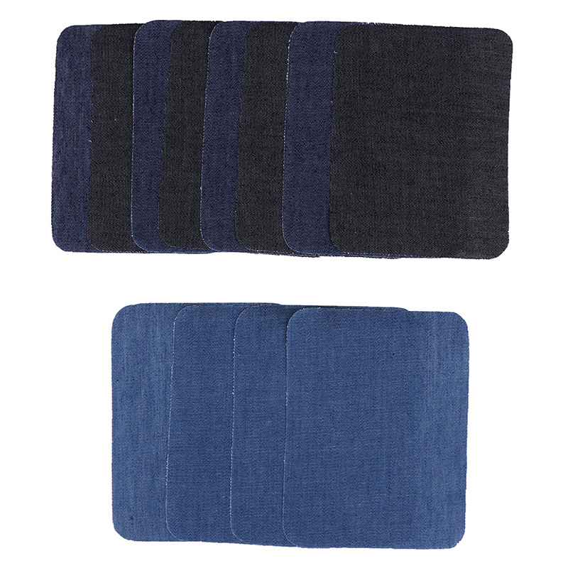12Pcs Thermal Sticky Iron On Mending Patches Jeans Bag Hat Repair Decor Design