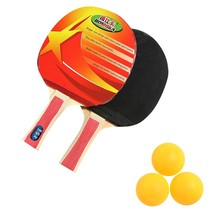Table-Tennis-Racket Paddle Professional Bat 3balls-Set 2-Player -30 2PCS Sports Indoor