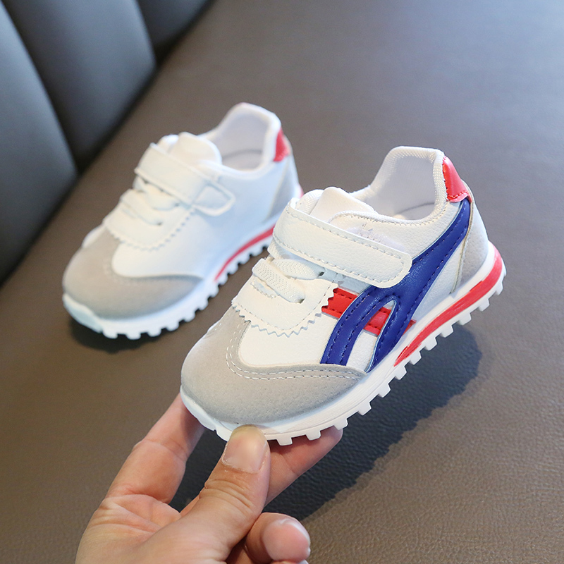 Children Sports Shoes For Boys Girls Baby Toddler Kids Flats Sneakers Fashion Casual Infant Soft Shoe